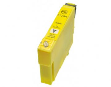 Epson 27XL - T2713 Yellow Refurbished Inkjet Cartridge -  High Capacity - Alarm Clock